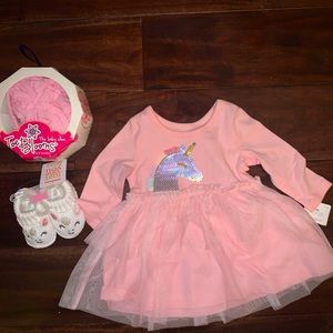 New 0-3 months Unicorn Baby outfit